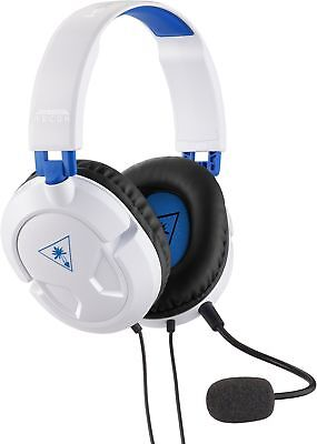 Turtle Beach Ear Force Recon 50P White Stereo Gaming Headset for Playstation 4