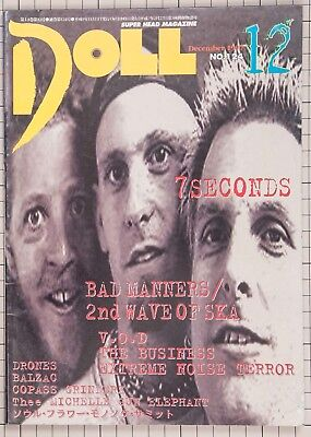 H2O V.O.D SWITCHBLADE SYMPHONY MAD SIN 7SECONDS Japanese Magazine DOLL 1997 for sale  Shipping to United States