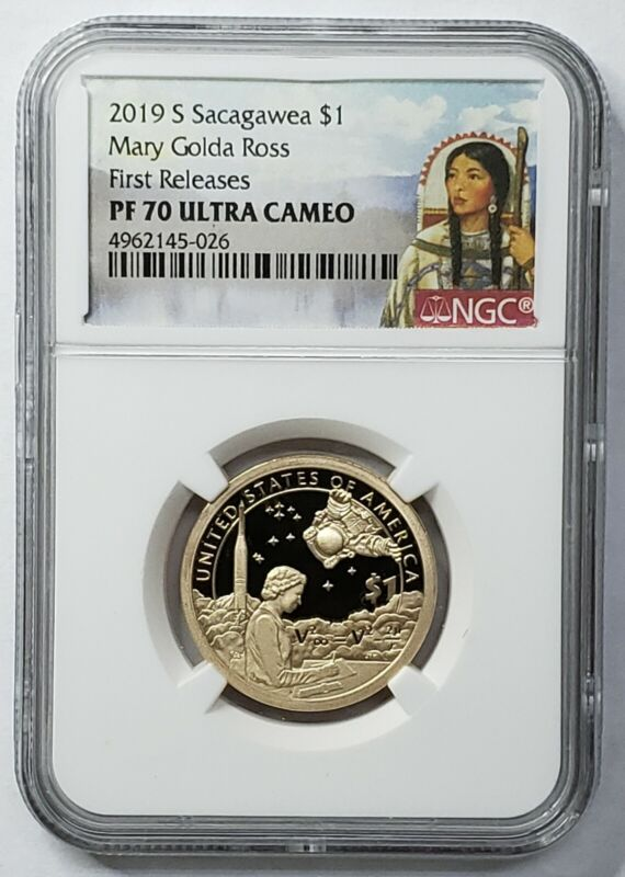 2019S Sacagawea $1  PF70 Coin First Releases SKU C30