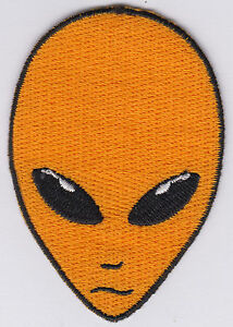 Alien-Patch-Iron-On-Alien-Head-UFO-Roswell-AREA-51