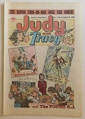 JUDY & TRACY Comic #1345 - 19th October 1985