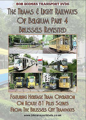 Trams & Light Railways Belgium Part 4, Brussels Revisited DVD