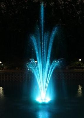 Over 700 LED Color Changing Pool Pond Floating Fountain see VIDEO inside