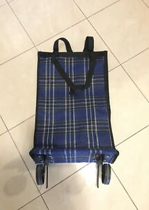 Brand new packable wheeled shopping bag