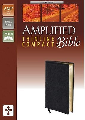 Amplified Thinline Bible Compact (Bonded Leather) BRAND NEW!! for sale  West Columbia
