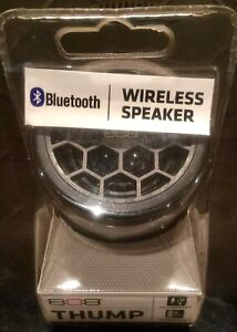 Thump 808 Bluetooth Speaker Black (New in Package)