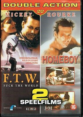 F.T.W. (1994) + Homeboy (1988) Mickey Rourke