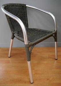 New San Remo Aluminium Rattan Dining Chairs Outdoor Furniture Melbourne CBD Melbourne City Preview