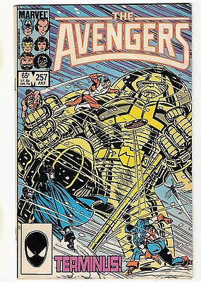 Avengers #257 260 First & Second Appearances of Nebula Guardians Of The Galaxy