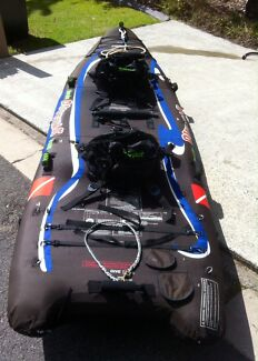 DiveYak 2person inflatable Kayak Kingscliff Tweed Heads Area Preview