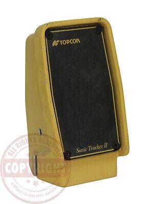 Topcon 9142 Sonic Tracker For Graderpaversystem Fourfive 45machine Control
