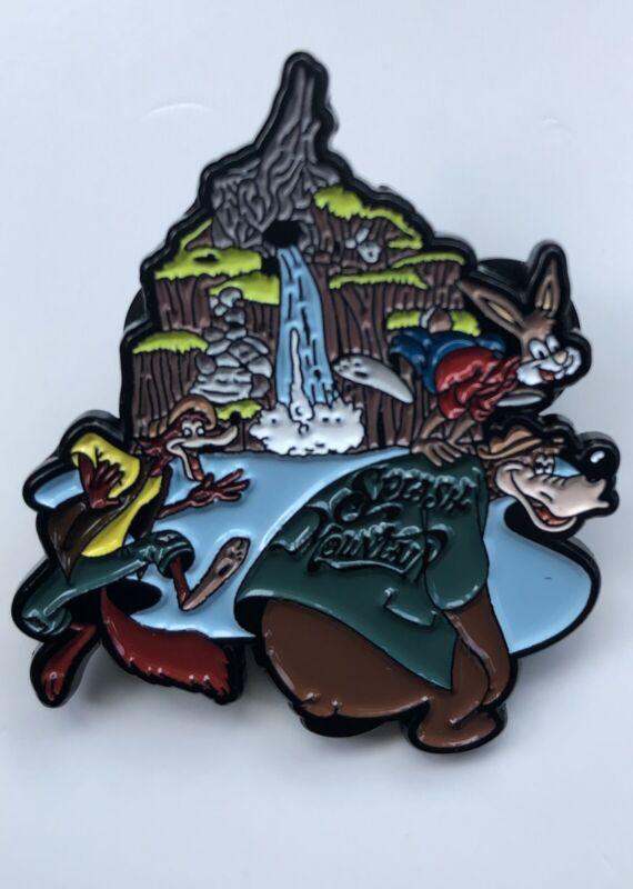 Disney's Splash Mountain Brer Rabbit Fox Bear Fantasy Pin WDW DL Attraction Ride