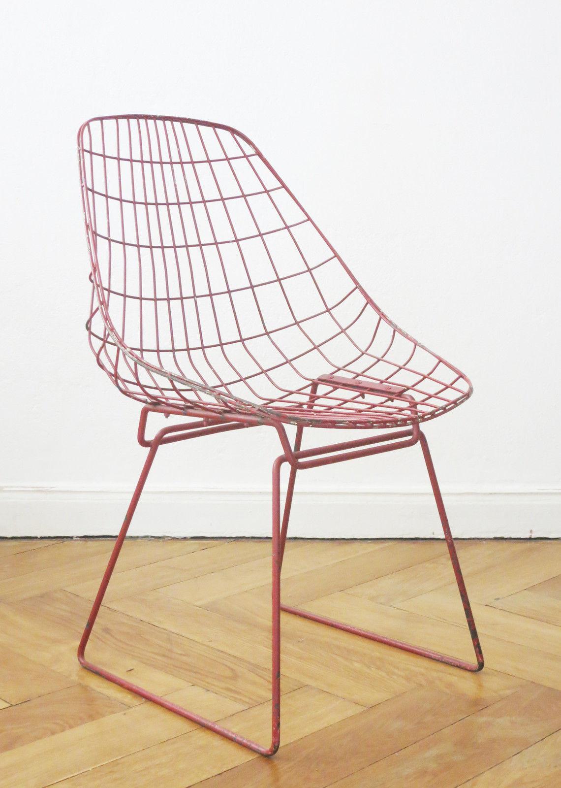 Pastoe cees braakman sm05 stuhl design wire chair bertoia for Stuhl design kunst