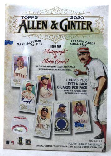 Topps 2020 Allen & Ginter Blaster Box