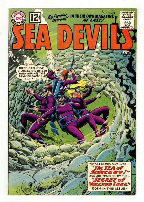 Sea Devils #4 FN 6.0 1962