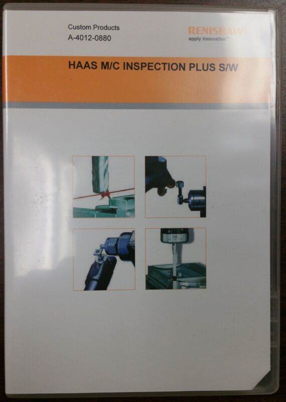 Renishaw Inspection Plus Software for Haas Machining Centers A-4012-0880
