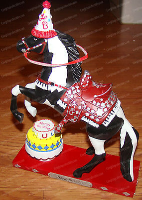 Happy Birthday  Trail Of Painted Ponies By Enesco  4021412  1E   4 420  Overo