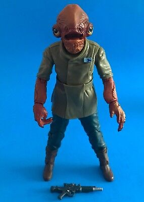 Star Wars Black Series Admiral Ackbar 6 In  Toys R Us Exclusive Loose Complete