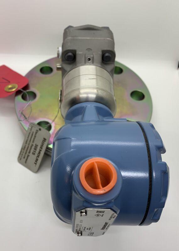 "Emerson Rosemount 3051S Series Level Pressure Transmitter 3"" 300# Pipe Flange"