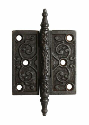 3 x 3 Victorian Cast Iron Butt Antique Door Hinge