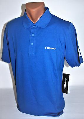 Head Corona Extra Herren Sport -Polo Shirt XS blau Neu & OVP Sport Freizeit