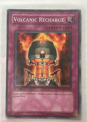 Volcanic Recharge - FOTB-EN049 - Common - 1st Edition M/NM (Volcanic Recharge)