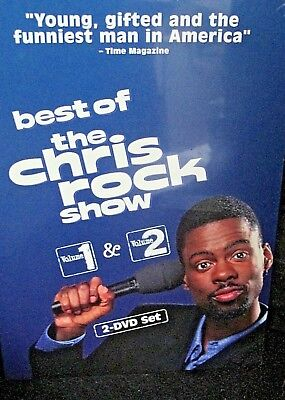 The Best of the Chris Rock Show - Vol. 1 NEW! 2 DVD BOX,Uncensored,HBO,Comedy (The Rock Best Of)