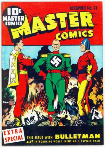 Flashback #18 Master Comics #21 (DynaPubs) Alan Light Special Edition Reprints