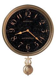 Howard Miller 620449 Paris Night  Mit W/Pend/B Wall Clock