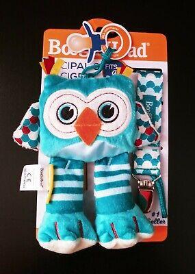 BooginHead PaciPal ~ PaciGrip Pacifier Clip ~ Owl ~ 2 Piece Set ~ New