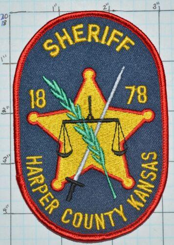KANSAS, HARPER COUNTY SHERIFF DEPT PATCH