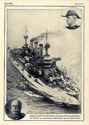 US-Schlachtflotte (Machtdemonstration gegen Japan) in den Stillen Ozean verlegt