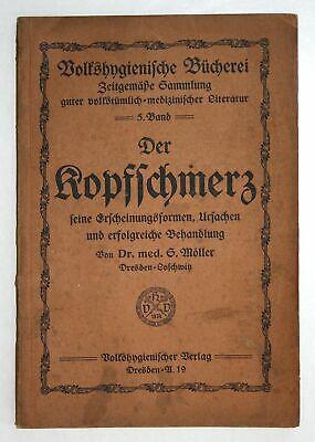 Kopfschmerzen Medizin (1901 Dr. Möller Der Kopfschmerz Medizin Kopfschmerzen Behandlung)
