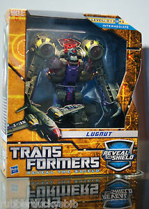 NEW Transformers Reveal The Shield RTS Voyager Lugnut Decepticon in Sealed Box
