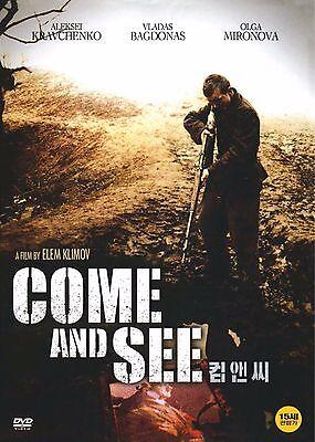 Come And See, Idi I Smotri,1985 (DVD,All,New) Aleksey Kravchenko, Olga Mironova