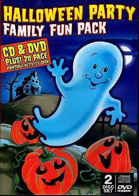HALLOWEEN PARTY FAMILY FUN PACK: HAUNTED SOUNDS CLASSIC CARTOONS & MORE - Classic Halloween Movies Family