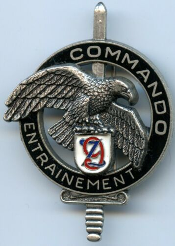 French Commando 9th Training Center Zouaves Badge