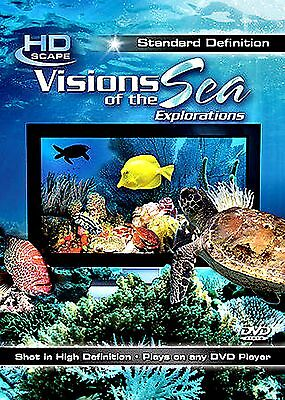 Visions Of The Sea: Explorations (NEW DVD HDScape )ANTHONY S LENZO