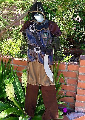 EURO CHRONICLES OF NARNIA PRINCE CASPIAN COSTUME & SWORD SET CHILD BOYS XS 3 4 - Narnia Kids Costumes
