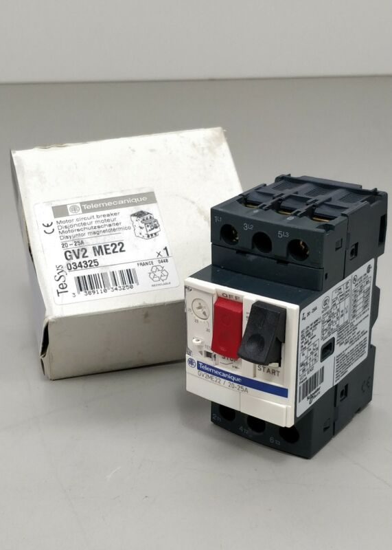 Telemecanique/Schneider Electric GV2ME22/20-25A Motor Circuit Breaker