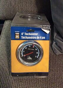 "4"" Tachometer New In Box- see pics"