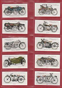 IMPERIAL PUBLISHING LTD - SET OF 50 LAMBERT & BUTLER ' MOTOR  CYCLES ' CARDS