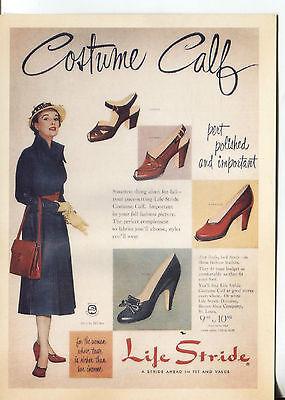 Werbung von einem Magazin Kostüm Kalb Life Stride Schuhe (Magazin-kostüm)