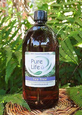 Árbol Del Té Aceite Esencial (Arbol ) - Certificado 100% Puro y...