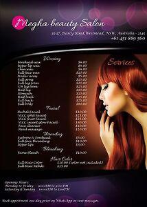 Megha Beauty salon Westmead Parramatta Area Preview