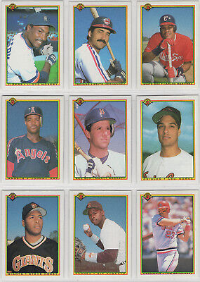 1990 Bowman Baseball Team Sets **Pick Your Team** ()