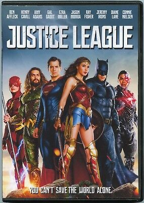 Justice League   Dc Comics  Dvd  2018  Gal Gadot  Ben Affleck  Ezra Miller