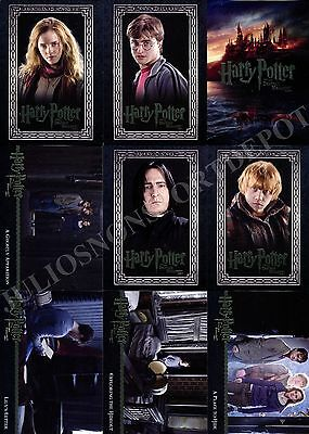 HARRY POTTER AND THE DEATHLY HALLOWS MOVIE PART 1 2010 ARTBOX BASE CARD SET 90