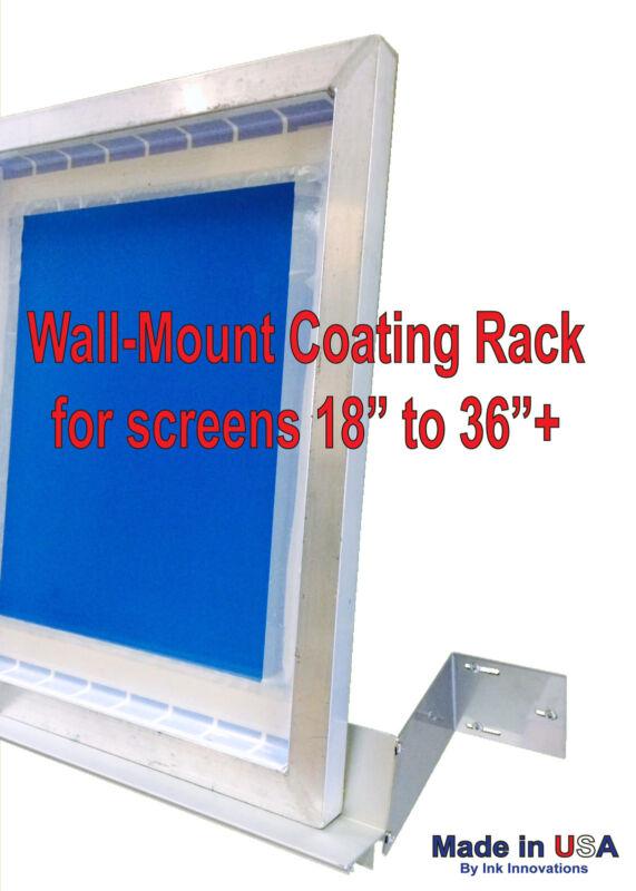 Emusion Coating Screen Rack, Screen Holder , Scoop-Coater Screen Holding Shelf