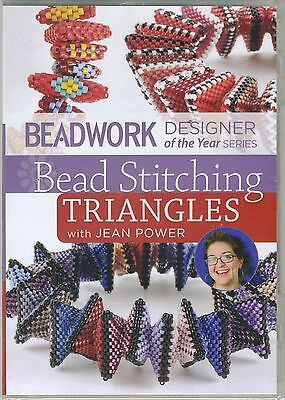 Bead Stitching Triangles Beading Beadwork Design Jewelry Peyote DVD